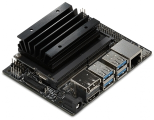 NVIDIA® Jetson Nano Developer Kit; 128-core Maxwell™ GPU; Quad-core ARM® A57 CPU; 4GB 64-bit LPDDR4