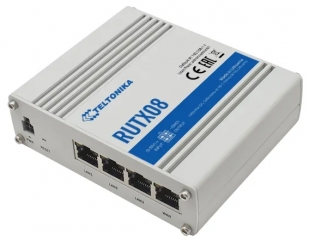 Ethernet-to-Ethernet Industrial Router; Quad-core ARM Cortex A7 CPU, 717MHz, 256MB DDR3 RAM, 256MB SPI Flash; 1xWAN; 3xLAN; 1xUSB; -40°C to 75°C; IP30