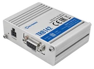RS232 to 4G(LTE) Cat1 / 3G / 2G IoT Gateway; 1xSMA; 1xSIM; 1xDB9; 2xI/O; ARM Cortex-A7 1.2 GHz CPU; 128MB RAM; 512MB Flash; -40°C to 75°C; IP30