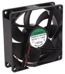 12VDC, 92x92x25mm, 1.24W, 67.11m3/h, 2400RPM