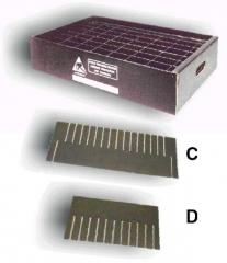 Conductive corrugated divider  600x200 mm