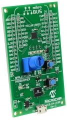MPLABXpress PIC16F18855 Evaluation Board