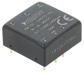 15W; Uin:36V·75V; Uout:24VDC; Iout:0.625A