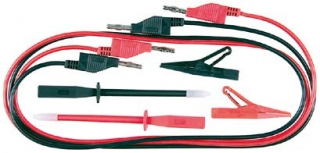 O 4 mm Test Lead Set with Accessories 6-piece set