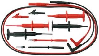 "O 4 mm Safety Test Lead Set ""Electronics"" 10-piece set"