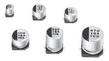 Electrolytic capacitor, Vibration-proof, -40~85°C, D8xL10.2mm, 2000h./85°, AEC-Q200