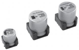 Electrolytic capacitor, Vibration-proof, Wide temperature range -40~150°C, D10xL10mm, 1000h/150°, AEC-Q200