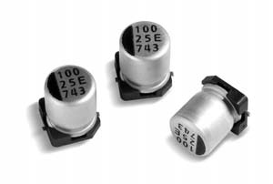 Electrolytic capacitor, SMD, Ultra low impedance 90 mOhm, 1000uF, 16V, 20%, -40~105°C, 2000ч./105°, D10xL10,5mm