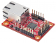 Compact Serial to Ethernet Module based on W7500P; 1 x RS422/485 / RJ45