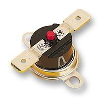 Thermostat Switch, Switching Temperature 80°C, 240VAC/10A, SPST-NC, Manual Reset, Flange Mount
