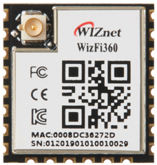 802.11b/g/n Wi-Fi Module; Industrial Grade; -40°C~85°C; 3.0-3.6V; 17x16x3mm; Cost-Effective; Onboard IPEX Connector