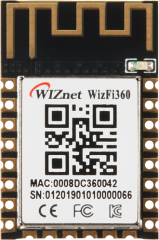 802.11b/g/n Wi-Fi Module; Industrial Grade; -40°C~85°C; 3.0-3.6V; 24x16x3mm; Cost-Effective; PCB Antenna