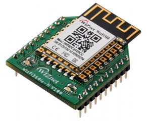 802.11b/g/n Wi-Fi Module; Industrial Grade; -40°C~85°C; 3.0-3.6V; 30.8x24.2mm Xbee form factor; Cost-Effective; PCB Antenna