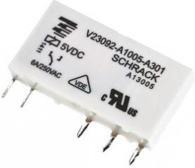 6A/12VDC 848Ohm SPDT