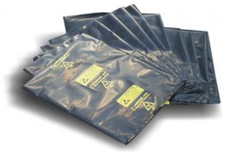 ESD conductive bag, 400x500mm, open, black multilayer polyethylene, 75um