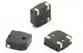 SMD Electromagnetic Sound Transducer, without generator, 4000Hz, 2-4V, 75dB, 100mA, 12R, 5x5x3mm