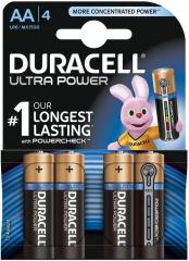 Алкална батерия 1.5V AA Ultra, блистер 4 броя