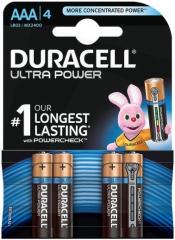 Алкална батерия 1.5V AAA Ultra, блистер 4 броя