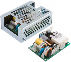 AC/DC converter, open frame, 45W, In: 80~264VAC, Out: 24V, 1.9A, Eff.: 90%, medical