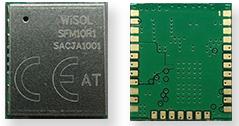 Sigfox Module RCZ1, Tx/Rx=868.130/869.525MHz, 100/600bps, Pout=13.5dBm, Sens.=-127dBm, Vcc=1.8-3.6V, -40+85°C