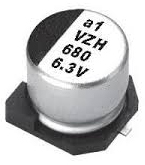 Electrolytic capacitor, Ultra Low Impedance, 100uF, 50V, 20%, -55~105°C, D8xL10mm, 5000ч./105°