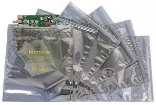 екраниращ опаковачен плик 254х305мм, с цип