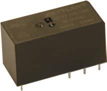 10A; Coil 5V 62 Ohms DPDT Miniature; Sealed