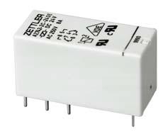 10A; Coil 12V 360 Ohms DPDT Miniature; Sealed