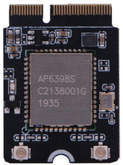 ROCK Pi Wireless Module A3- Wireless 2.4G&5G, 400Mbps/BlueWireless 5.0, Support RSDB; M.2 Connector