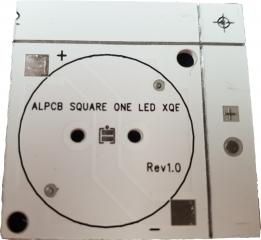 Квадратна подложка 30x30mm. за светодиоди CREE XLamp XD16/XQ
