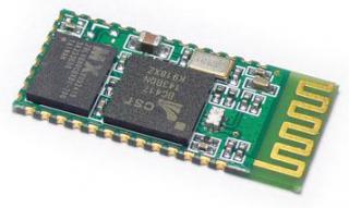 Serial port Bluetooth module, 2Mbps, 2.4GHz, Pout=6dBm, Typical -80dBm sensitivity, UART interface
