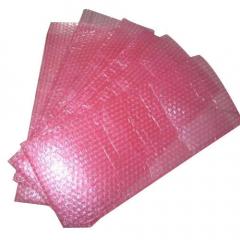 Плик от антистатичен аеропласт(полиетилен на балончета), розов, 50х150мм