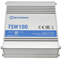 Industrial Unmanaged PoE+Switch; 5xLAN 10/100/1000Mbps, IEEE 802.3; 802.3u; 802.3az; Auto MDI/MDIX crossover; 4x PoE 802.3af; 802.3at, 30W per port
