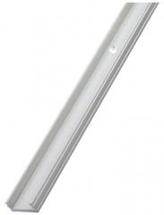 Универсален алуминиев профил за инсталиране на индивидуални LED или LED ленти, W14.7xH9.7xL2100мм