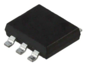 Contactless Monolithic(IC) Rotary Position Sensor with Hall Devices, Analog output, 10 bit Resolution, Vdd=3.0V