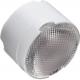 Assembly Lens, ~25° medium beam, Pin/Tape Fastening, Material-PMMA O22x14.8mm