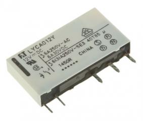 6A/12VDC 847Ohm SPDT,  Slim Type