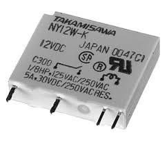 5A/24VDC 4.8KOhm SPST-NO, Slim Type