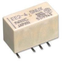SMD Signal Relay, Double Coil Latch Type, 5VDC/140mW, DPDT, 2.0A 220VDC/250VAC, 15/7.5/10mm
