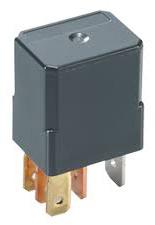 Automotive Plug-in Power Relay, SPST-NO, 12VDC, 1.5W, 96 Ohm, 35A/14VDC, 20x15x22mm