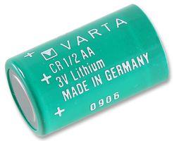 батерия литиева цилиндрична, 3V, 1/2AA,1/2R6, O14,6x25mm, 950mAh