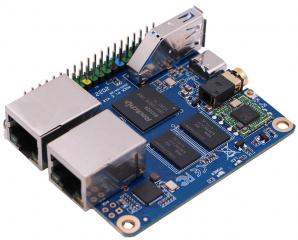 SBC/Mini PC - RK3328 SoC with 512MB DDR3 RAM, Wi-Fi/ Bluetooth, Dual Ethernet