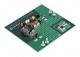 MCP16361/2/3 Evaluation Board; Output: 2V to 20; Input: 4V to 48V; 3A load current at 3.3V output / 12V input