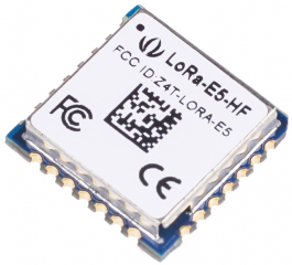 (STM32WLE5JC) Module, ARM Cortex-M4 and SX126x embedded, supports LoRaWAN on EU868 & US915