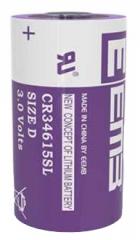 Primary Lithium Manganese Dioxide Battery, 3.0V, 12000mAh, 34x61.5mm
