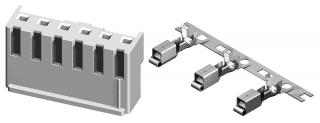 Wire to Board Connector 3.96mm 10P 7A/250V
