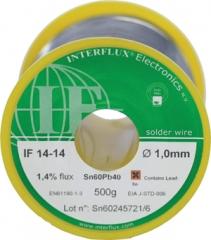 0.1kg Sn60Pb40,no-clean,1.4% флюс,185°С