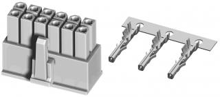 Receptacle connector, 4.20mm 2X10P 9A/600V