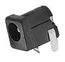 DC Power Jack 2.5mm lead wire terminals