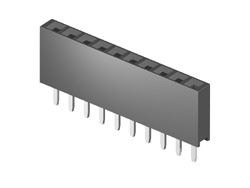 Board to Board Socket, body height 8.5mm, 1x40, straight PCB TH, P2.54mm